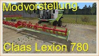 Ls 17 Modvorstellung  Claas Lexion 780 V 1.2    [Deutsch[HD+] [60 FPS]   Mod Downloaden:https://www.modhoster.de/mods/claas-lexion-780--50#description  _________________________________________________ Beschreibung des Mod: - abwaschbar - Neue Textu