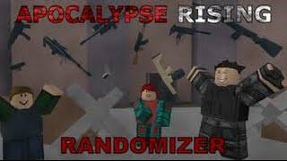 roblox apocalypse rising randomizer (parte 1)