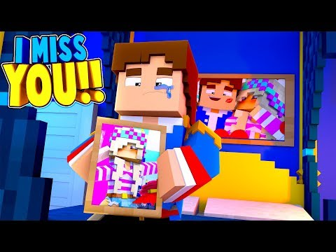 Minecraft LITTLE DONNY IS SAD & LONELY & WANTS LEAH BACK!!