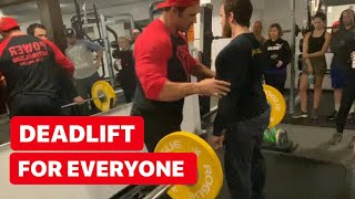 Deadlift For Everyone
