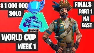 Fortnite World Cup WEEK 1 FINAL Part 1 Highlights - NA East Solo Day 2 [Fortnite Tournament 2019]