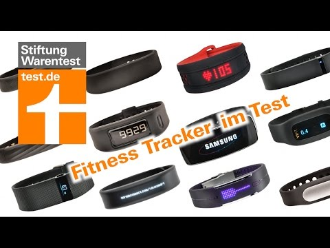 Test Fitnessarmbänder: Jawbone mangelhaft (fitness tracker review german)