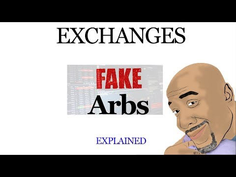 Crypto Exchanges and 'Fake Arbitrage' opportunities