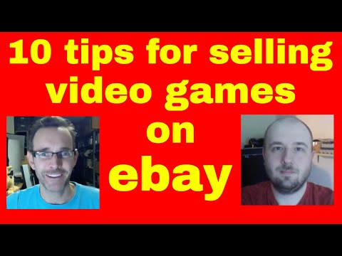 10 tips for buying and selling video games on ebay - with Darren Smart