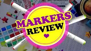 Markers review // Обзор маркеров // Sketchmarkers