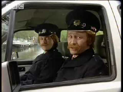 Police in Amsterdam  Harry Enfield and Chums  BBC comedy