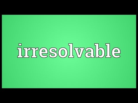 Header of irresolvable