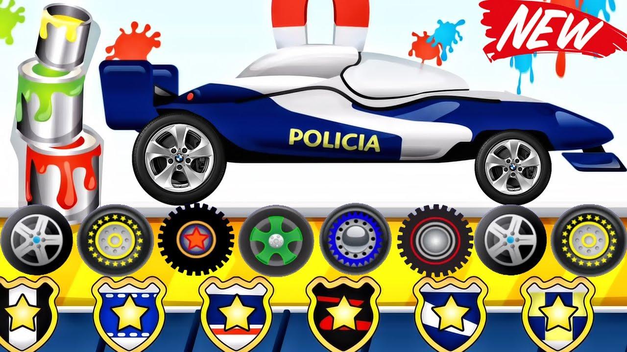 Builds Police Car