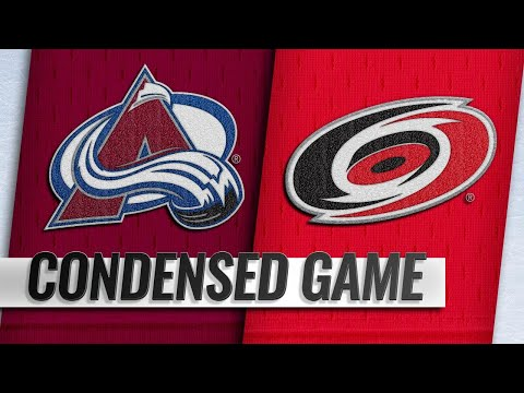 10/20/18 Condensed Game: Avalanche @ Hurricanes
