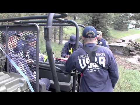 Five Urban Search & Rescue (US&R) Task Force Teams Respond to Colorado Flooding