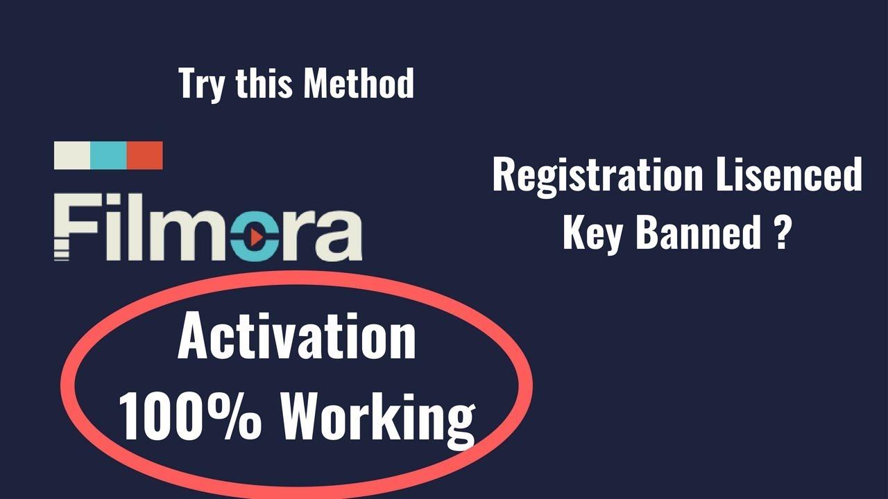 filmora code and email