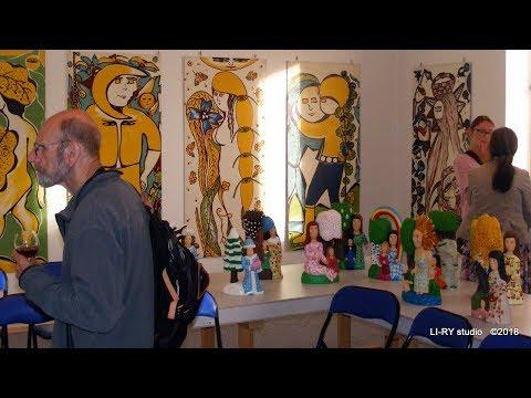 LI-RY studio video   ART BRUT v Městském muzeu  Rýmařov Marie Kodovská