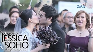 Kapuso Mo, Jessica Soho: Chynna Ortaleza and Kean Cipriano, till death we do art