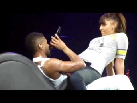 Usher OMG Tour Paris Bercy Trading Place!