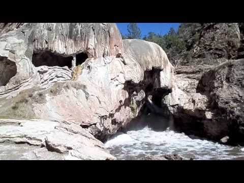 RV CamperVan Trip Jemez Mountains Santa Fe National Forest New Mexico & IM IN A VOLCANO!