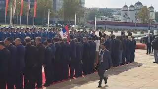 Erdogan se poklonio srpskoj zastavi po dolasku u Beograd