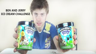 Huge Ben And Jerry's Ice Cream Eat Off | 3600 Calories