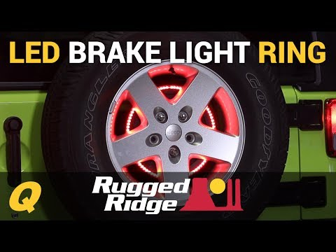 Rugged Ridge 3rd Brake Light LED Ring for Jeep Wrangler JK