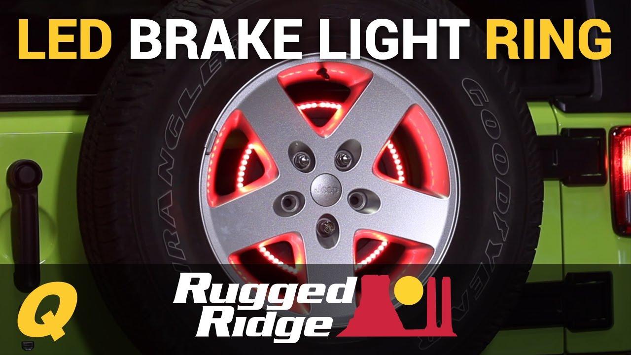 Rugged Ridge 3rd Brake Light Led Ring For Jeep Wrangler Jk
