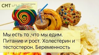 Мы есть то ,что мы едим. Питание и физическое развитие. Холестерин и тестостерон. Беременность