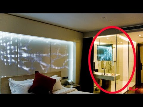 Phòng tắm kính - Khám phá: Tại sao nhiều phòng tắm khách sạn lại làm tường kính TRONG SUỐT