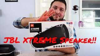 JBL XTREME Unboxing, Sound Test, and Review