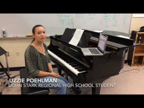 John Stark Regional High School students write holiday jingles
