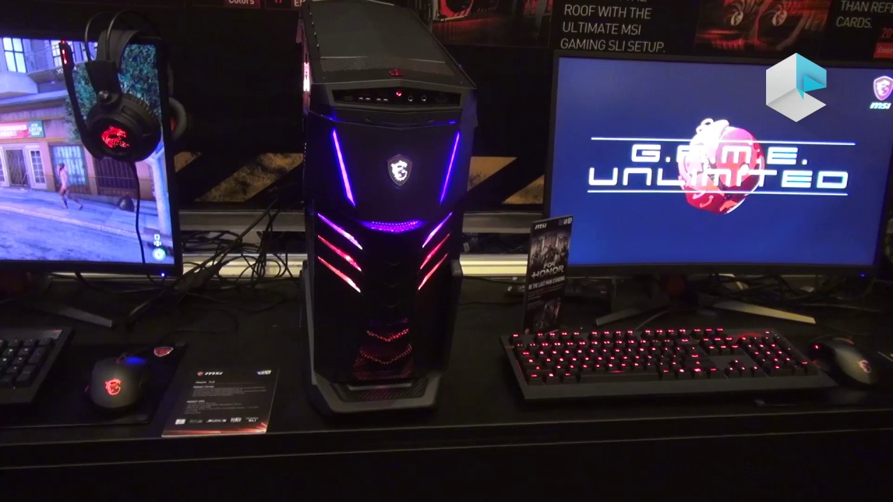 msi aegis x3 and trident 3 gaming desktop intel core 7th. Black Bedroom Furniture Sets. Home Design Ideas
