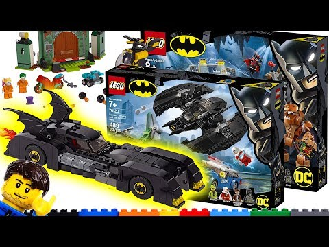New LEGO Batman sets revealed Batcave Batmobile Batwing - 80th Anniversary