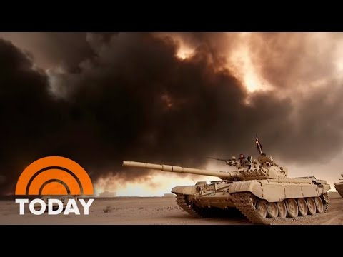 Iraqi Forces Backed By US Troops Attack ISIS Stronghold To Liberate Mosul | TODAY