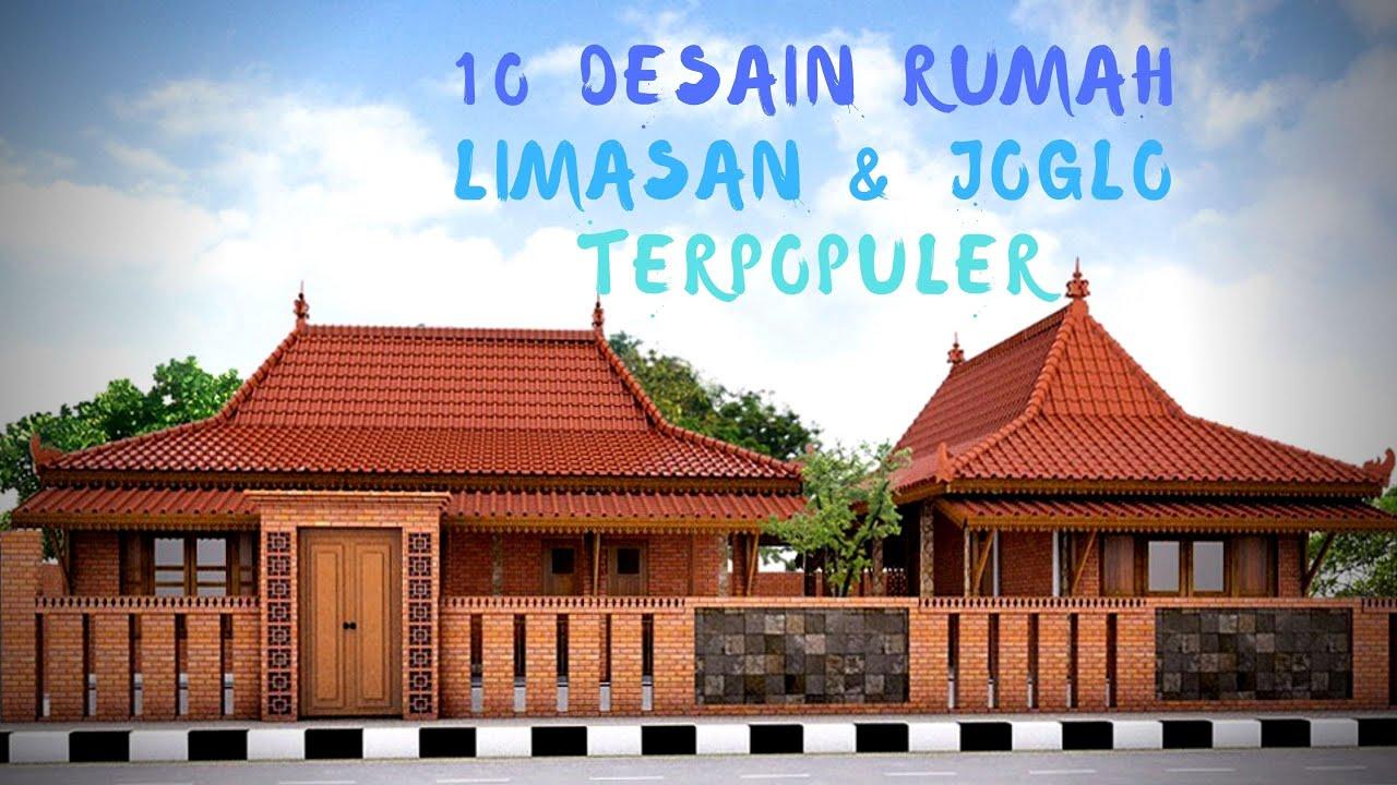 10 Desain 3d Rumah Limasan Modern Dan Rumah Joglo Modern Youtube