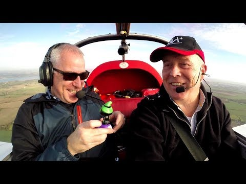 Aviating with the Flying Reporter