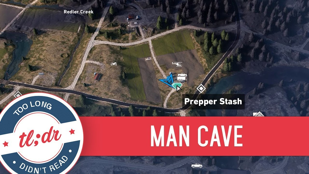 Man Cave Holland Valley : Far cry prepper stash man cave youtube