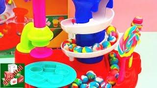 Play Doh Lollis, lecca-lecca e caramelle a forma di pretzel - Demo ...