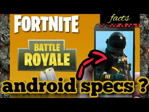 Fortnite mobile: android specs and compatible devices ...
