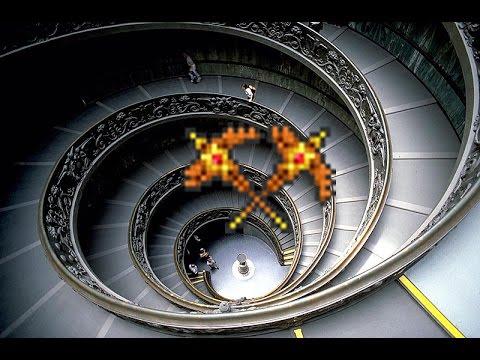 видео: Как сделать винтовую лестницу в terraria 1.3