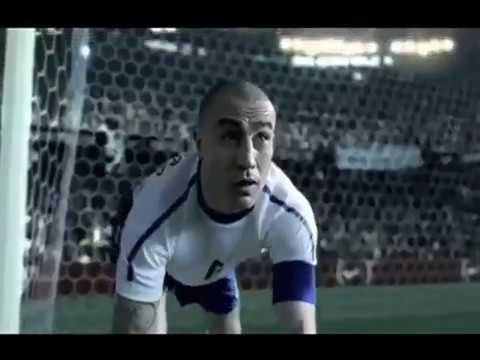 lb Difuminar Adiccion  Spot Nike - Ronaldo, Cannavaro, Kobe Bryant, Roger Federer, Ronaldinho,  Rooney and Ribéry - YouTube