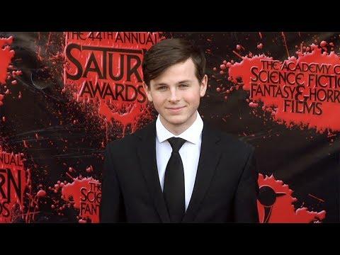 Chandler Riggs 2018 Saturn Awards Red Carpet