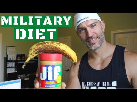 Military Diet Lose 10lbs in 3 Days Explained