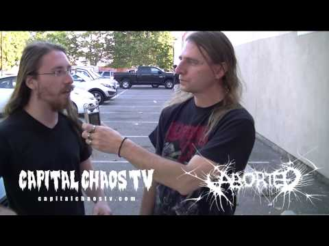 Ken Bedene of Aborted in Oakland on Capital Chaos TV