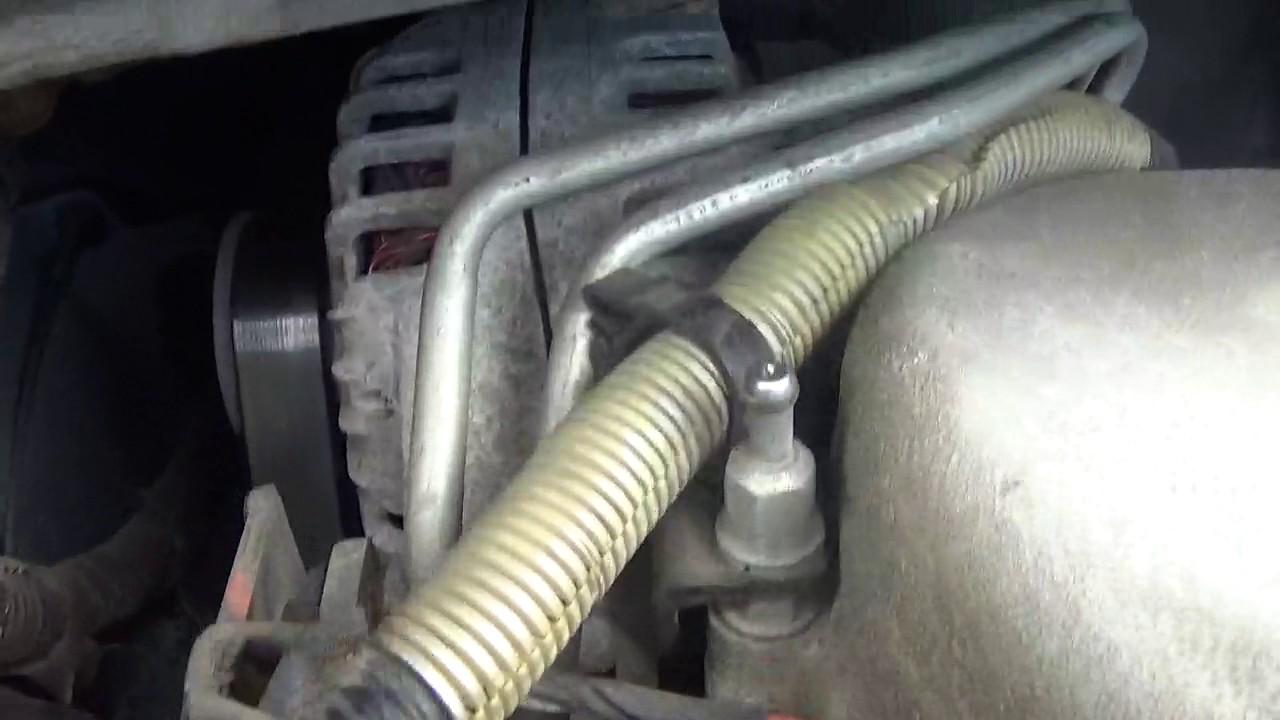 All Chevy 2005 chevy aveo alternator : 2007 Uplander Alternator replacemant part#1 - YouTube