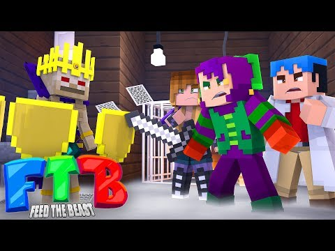 Fighting The Lich : Minecraft Feed the Beast!! : Ep 3