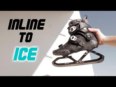 I Transformed My INLINE SKATES Into ICE SKATES