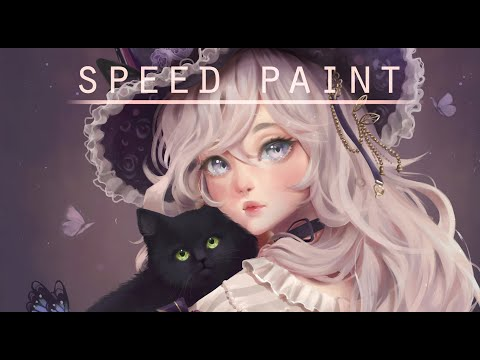 Speed Paint- Commission - Paint Tool Sai- Lulybot