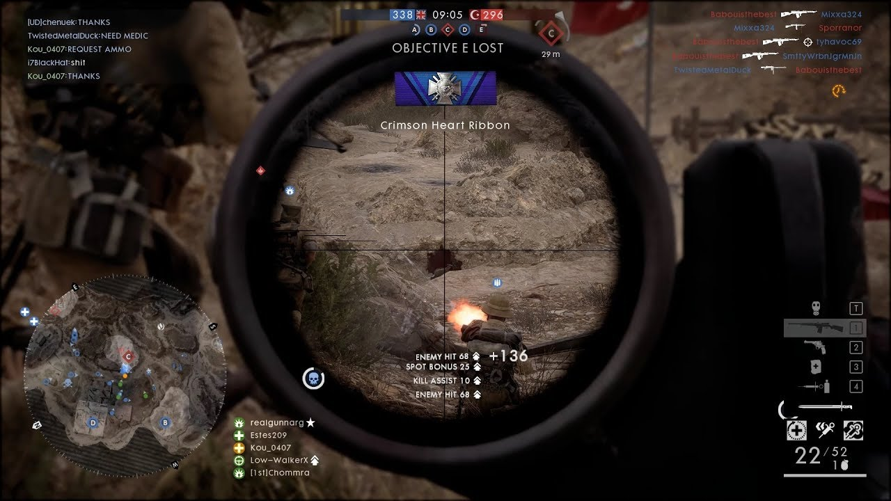 Battlefield 1 Raw Play Medic 19 Selbstlader M1916 Marksman Is The Best After All 56k2d