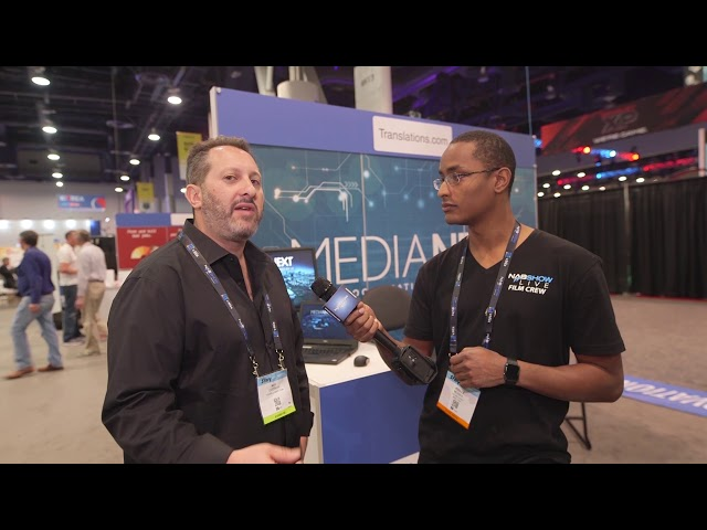 Translations.com: #NABShow Video Entèvyou