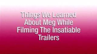 Things we learned about Meg Cabot filming the Insatiable trailers