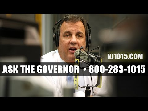 Ask the Governor with Gov. Chris Christie - March 27, 2017
