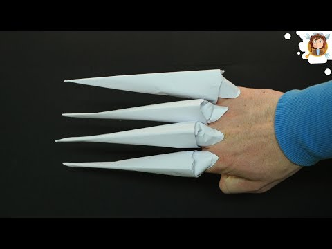 How To Make Origami Claws Paper Claws Yourepeat