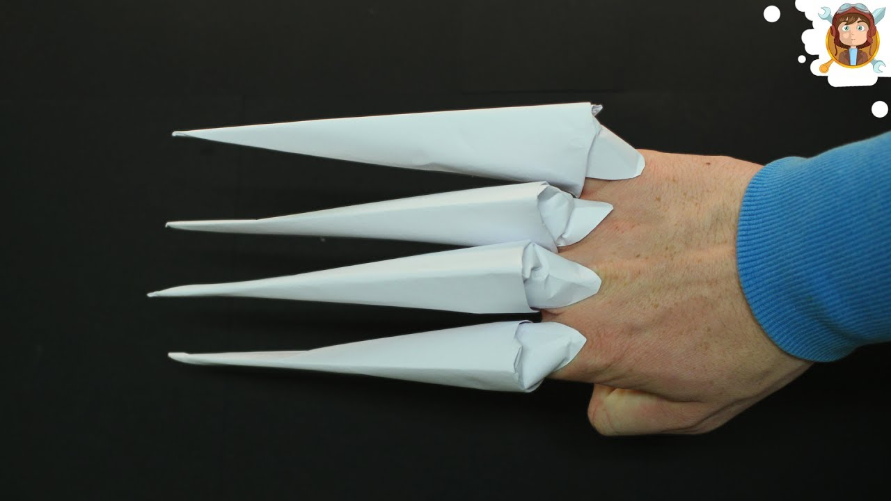 How To Make Origami Claws Video